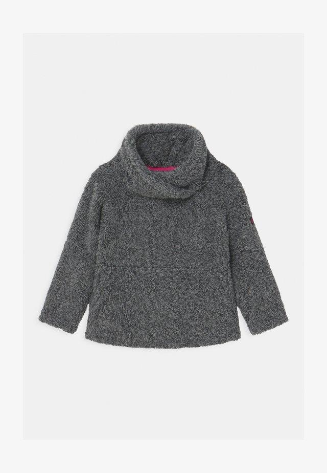 HAZEL - Fleece jumper - black out