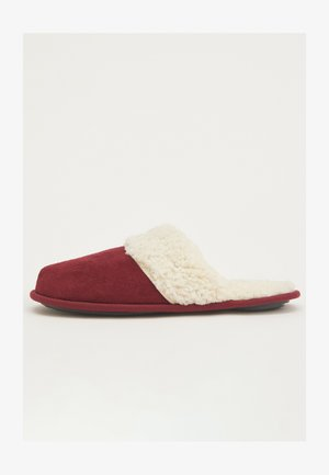 Slippers - bordeaux