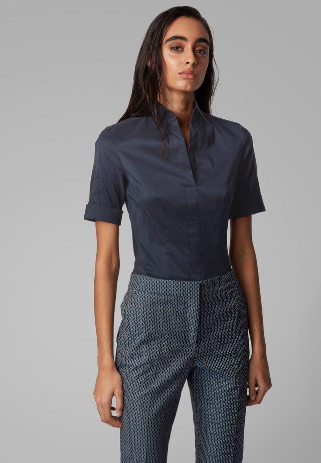 BASHINI - Button-down blouse - open blue