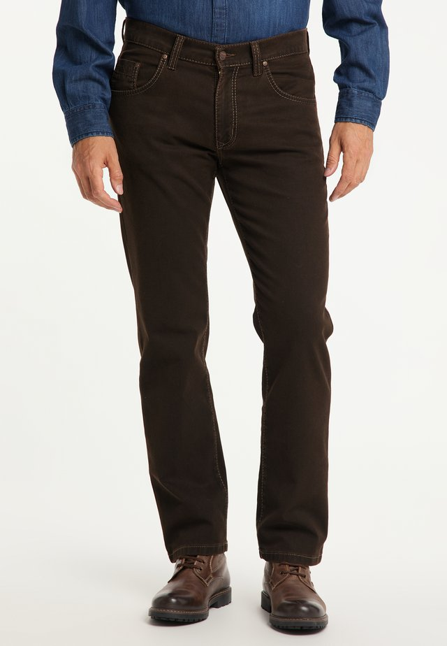 RANDO - Straight leg jeans - brown