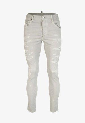SKATER - Jeans Skinny Fit - grau-beige
