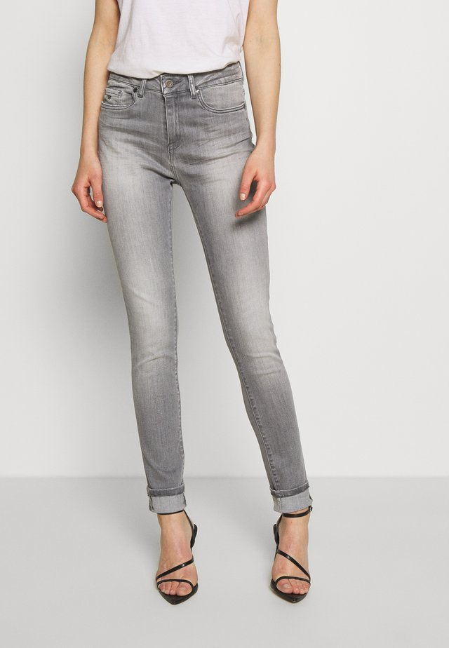 JENA - Jeansy Skinny Fit - light grey melange