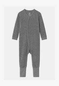 Hust & Claire - MOBI UNISEX - Pyžamo - wool grey - 0
