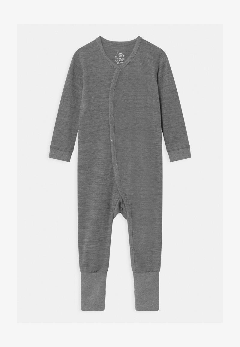 Hust & Claire - MOBI UNISEX - Pyžamo - wool grey