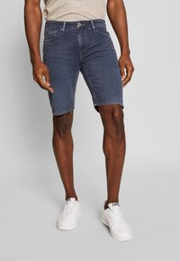 Pepe Jeans - STANLEY - Denim shorts - deep sea - 0