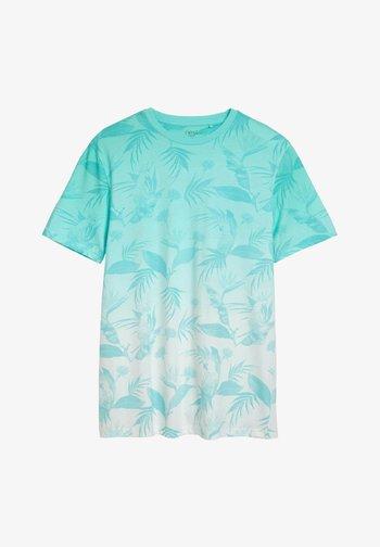 DIP DYE  - Print T-shirt - blue