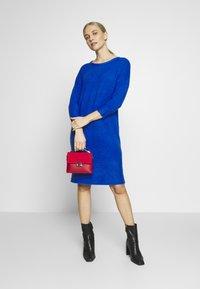 s.Oliver - Strikket kjole - royal blue - 1
