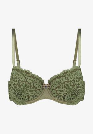 Underwired bra - green