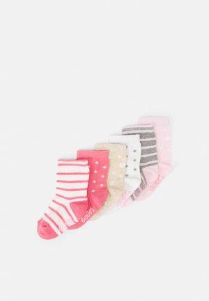 MOUSE HEARTS STRIPE 6 PACK - Sokken - multi-coloured/pink