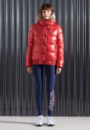 HIGH SHINE TOYA - Winter jacket - rouge red