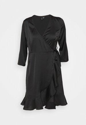 VMHENNA WRAP DRESS - Sukienka koktajlowa - black