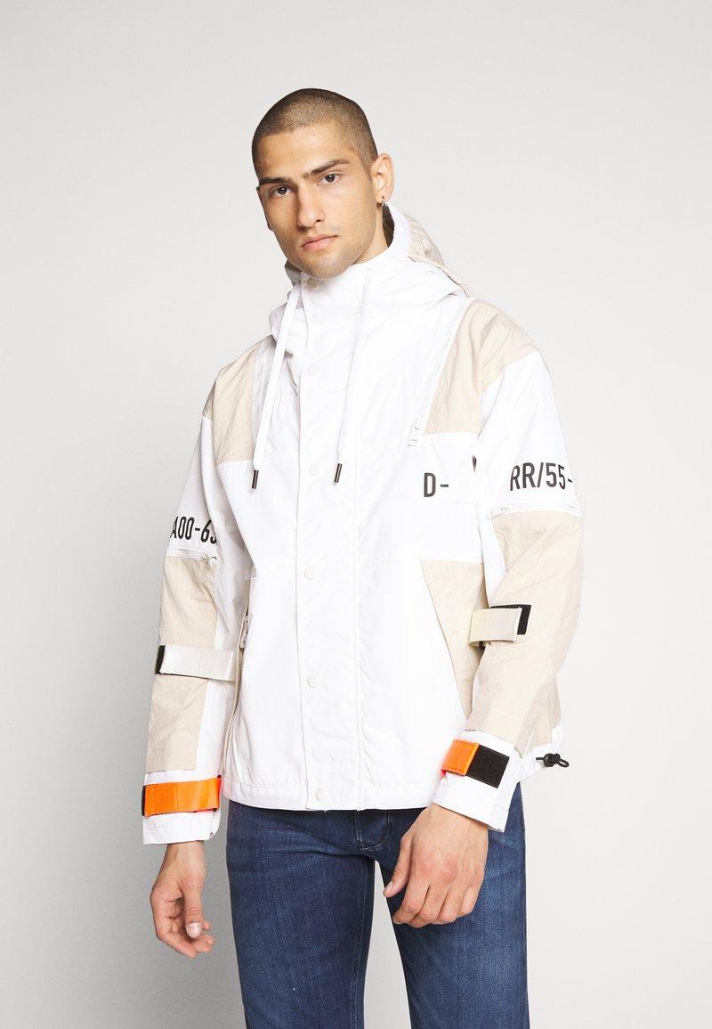 Diesel - J-REED JACKET - Summer jacket - cream