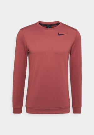 DRY CREW - Sweatshirt - claystone red/black