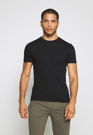 BLEND REGULAR BLOCK CREW LOUNGEWEAR - Pyžamový top - black