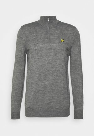 GOLF QUARTER - Stickad tröja - mid grey marl
