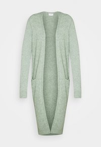 VIRIL LONG CARDIGAN - Cardigan - green milieu melange