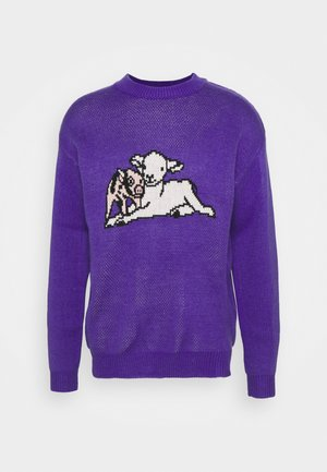 SHEEP CREW UNISEX - Jumper - purple