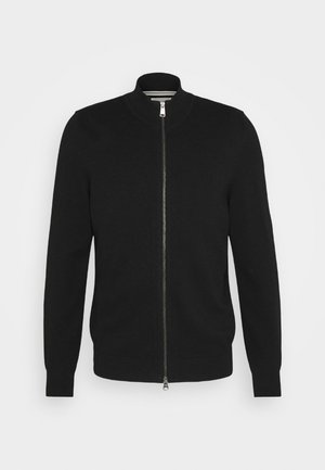 JACKET WITH ZIP - Neuletakki - black