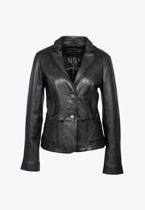 AS YOU LIKE - Leather jacket - black