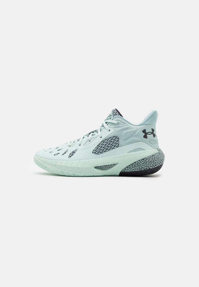 Under Armour - HOVR HAVOC 3 - Basketball shoes - seaglass blue