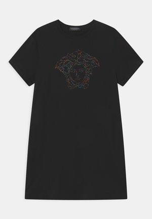 MEDUSA - Jersey dress - black/multicolor