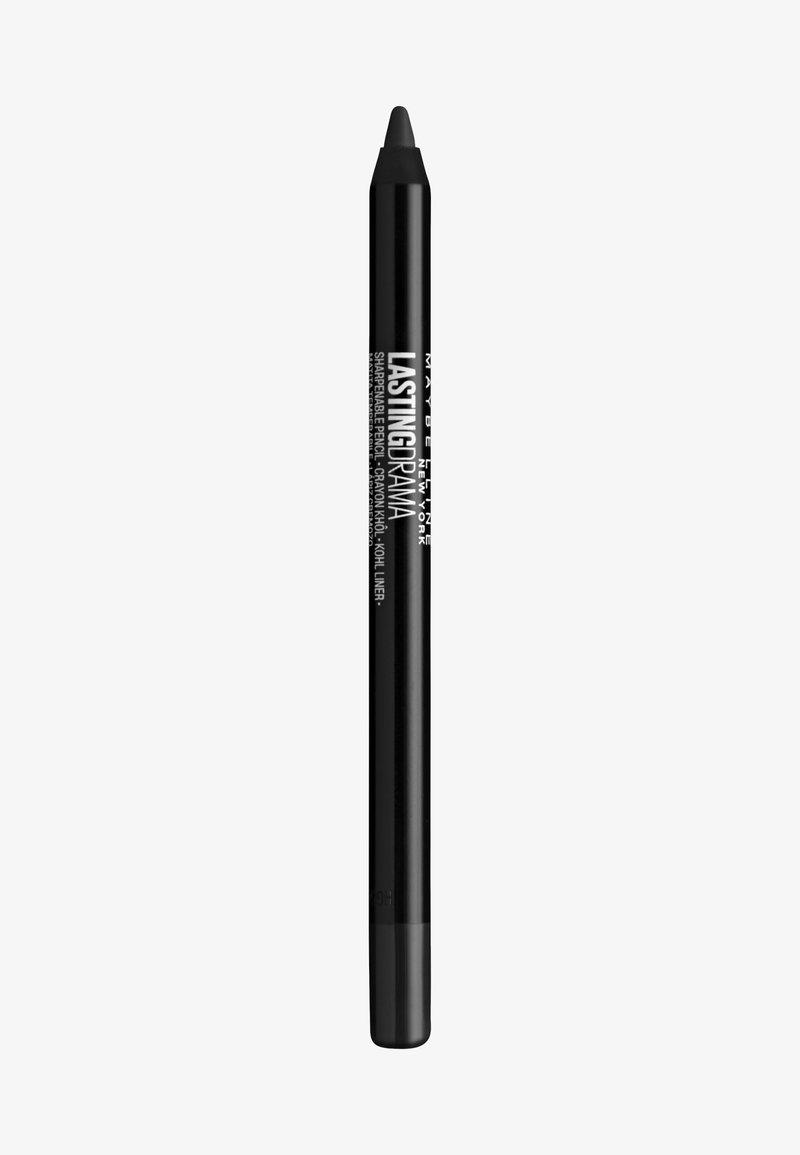 Maybelline New York - LASTING DRAMA KHOL LINER - Eyeliner - charcoal grey