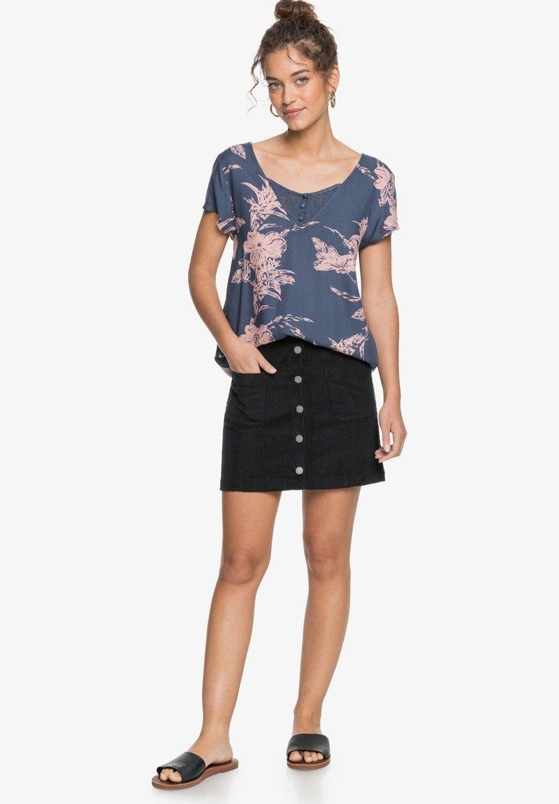 Roxy - PARADISE STORIES - MIT TRÄGERN FÜR FRAUEN - Print T-shirt - mood indigo vertigo