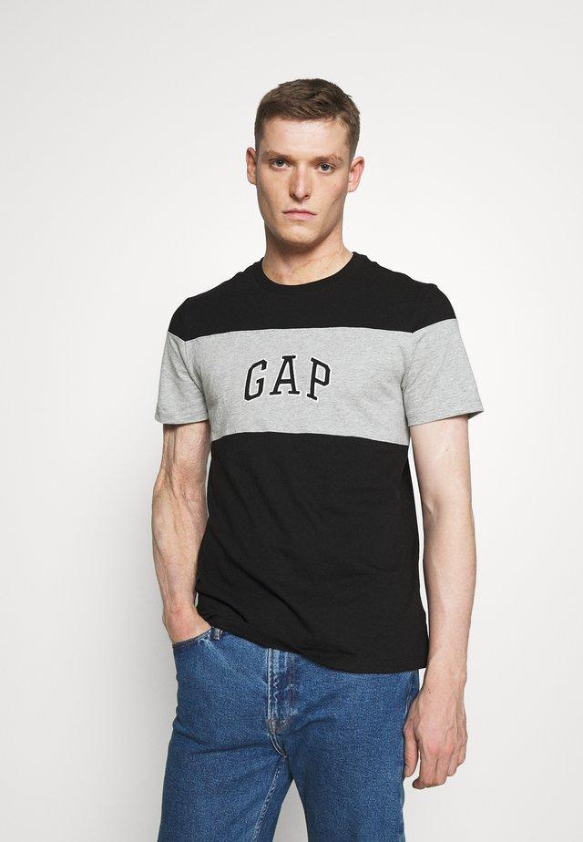 MINI ARCH - T-shirt print - true black