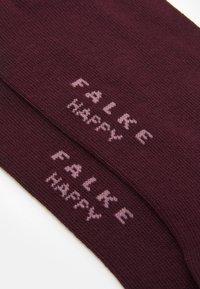 FALKE - HAPPY 2-PACK - Socks - barolo - 1