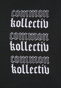Common Kollectiv - GOTHIC HOOD UNISEX  - Hoodie - black - 6