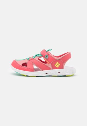 YOUTH TECHSUN WAVE UNISEX - Sandalias de senderismo - wild salmon/voltage