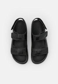 ARKET - FLAT SANDALS - Sandals - black - 5