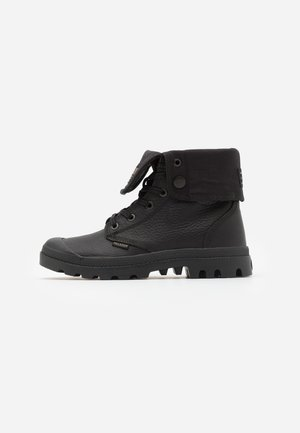 BAGGY - Bottines à lacets - black