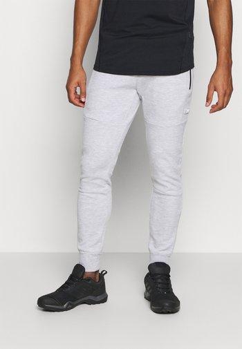 JJIWILL JJAIR  - Tracksuit bottoms - light grey melange