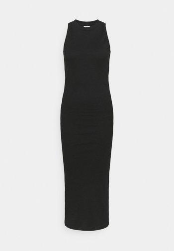 VMLAVENDER CALF DRESS  - Jersey dress - black
