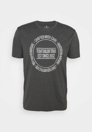 PRINTED - T-shirt print - dark grey melange
