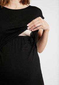 Anna Field MAMA - NURSING DRESS - Jersey dress - black - 7