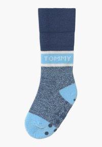 Tommy Hilfiger - FOLD OVER 4 PACK - Ponožky - blue - 2