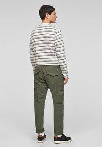 s.Oliver - Cargo trousers - olive - 2