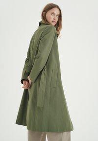 InWear - YUMA - Trenchcoat - beetle green - 4