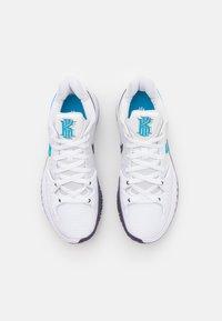 Nike Performance - KYRIE LOW 4 - Basketball shoes - white/laser blue/dark raisin - 3