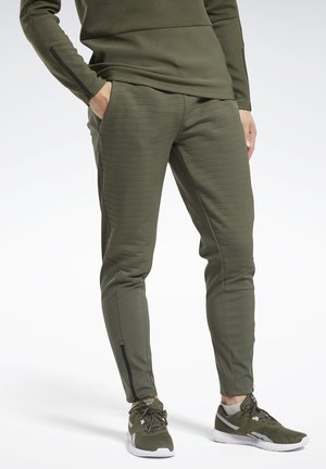 THERMOWARM DELTAPEAK JOGGERS - Tracksuit bottoms - green