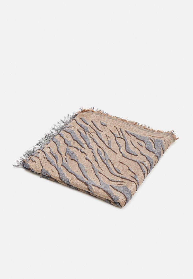 Becksöndergaard - MIXANI COLUR SCARF - Šátek - brownish