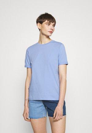 PCRIA FOLD UP SOLID TEE - Basic T-shirt - pale iris