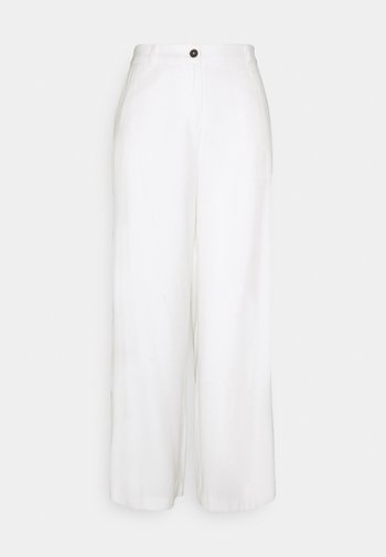 GLENNA  - Trousers - off-white