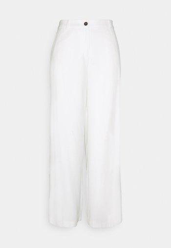 GLENNA  - Stoffhose - off-white