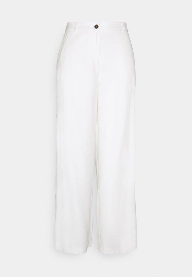 GLENNA  - Pantalon classique - off-white