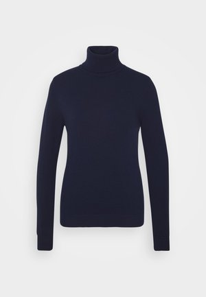 TURTLE NECK - Jersey de punto - navy