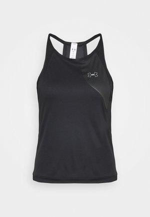 UA QUALIFIER ISO CHILL TANK - Sportshirt - black