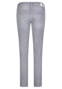 MAC Jeans - ANGELA - Slim fit jeans - grey - 3